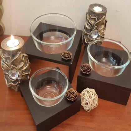 Wooden Bowl Set